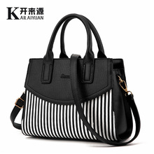 100% Genuine leather Women handbags 2017 new female fashion handbag bag tide shoulder bags of western style air bag