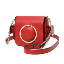 2017 Women Retro Small Shoulder Bags Famous Brands PU Leather Personality Camera Bag Women Chain Messenger Bag Sac En Cuir Femme