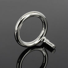 Buy SODANDY Stainless Steel Cock Rings Metal Cock Cage Chastity Belt Bondage Gear Men Penis Ring Chastity Device Accessories