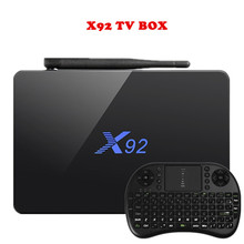 Hot X92 TV Box 3GB 32GB Amlogic S912 Octa-Core 2.4GHz/5.8GHz WiFi HDMI Smart Set Top Box Bluetooth USB 2.0 PK A95X Smart TV BOX