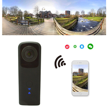Dual Fisheye Lens Full 960 HD Handheld Panoramic Camera 3D VR Action Sports Wifi Camcorder Lens Support 128G TF 5.0MP Camera