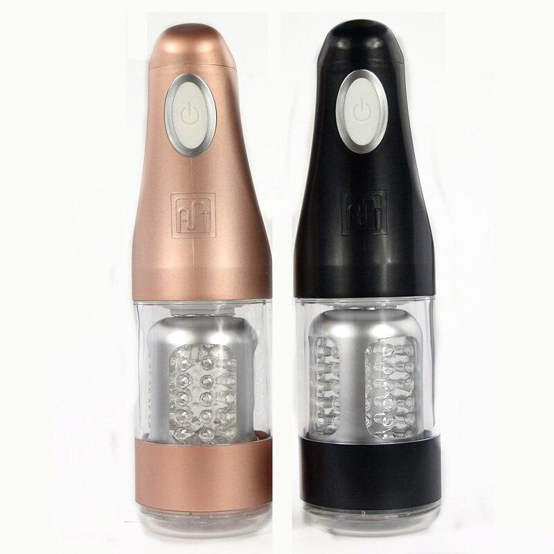 Electric Penis Massager Automatic Male Masturbator Sex Toys for Men Masturbation Cup Silicone Soft Man Artificial Vagina Sex Toy<br>