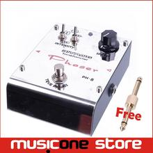 Biyang Tonefancier Ph-8 Phase Electric Guitar Phaser Effect Pedal True Bypass With gold pedal Connector