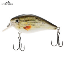 7.5cm 13g Wobblers Fishing Lure Ocean ABS Fish Lure Isca Artificial Swimbait Crankbait Bait With Hooks Fishing Tackle Tool Pesca