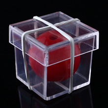 Hot Sale Amazing Clear Ball Through Box Illusion Magic ConJuring Prop Magician Trick Game Tool