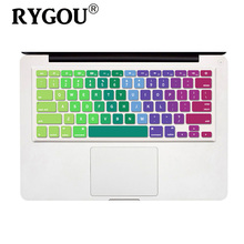 Colored keyboard stickers for macbook air 13 keyboard cover for macbook pro retina air 13 15 17inch laptop & imac keyboard cover