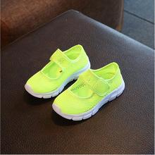 New 2017 Summer Breathable Children Casual Shoes for girls Soft Sole Hollow-out Kids Sneakers Fashion kids shoes Boy Shoes