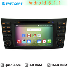 HD 1024*600 Android 5.1.1 Quad Core Car DVD Player For Mercedes Benz E CLS CLK Class W211 W219 W209 Radio GPS Navigation System(China)