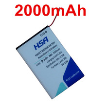 New 2000mAh BV-5JW BV5JW BV 5JW Mobile Phone Battery for Nokia N9 N9-00 Lumia 800 800C Lumia800 Sun Sea Ray Battery
