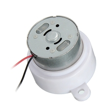 DIY Big Promotion Micro DC 6V Electric Geared Motor Worm Brush Reduction Gear Motor Slow Speed 20RPM For RC Car Robot Model