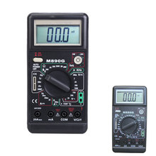 M890G Digital LCD Multimeter Apm Volt Ohm Meter Frequency Temperature Tester
