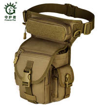 Hot buy Nylon Thigh Leg Drop Bag Waterproof Man Travel Hip Belt Bum Fanny Pack Casual Male Military Waist Packs Free shipping(China)