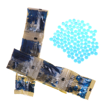 Toy-Accessories Bullet-Gun Pistol Crystal Soft Blue Fit-Electrified 6-7mm 10-Bags/Pack