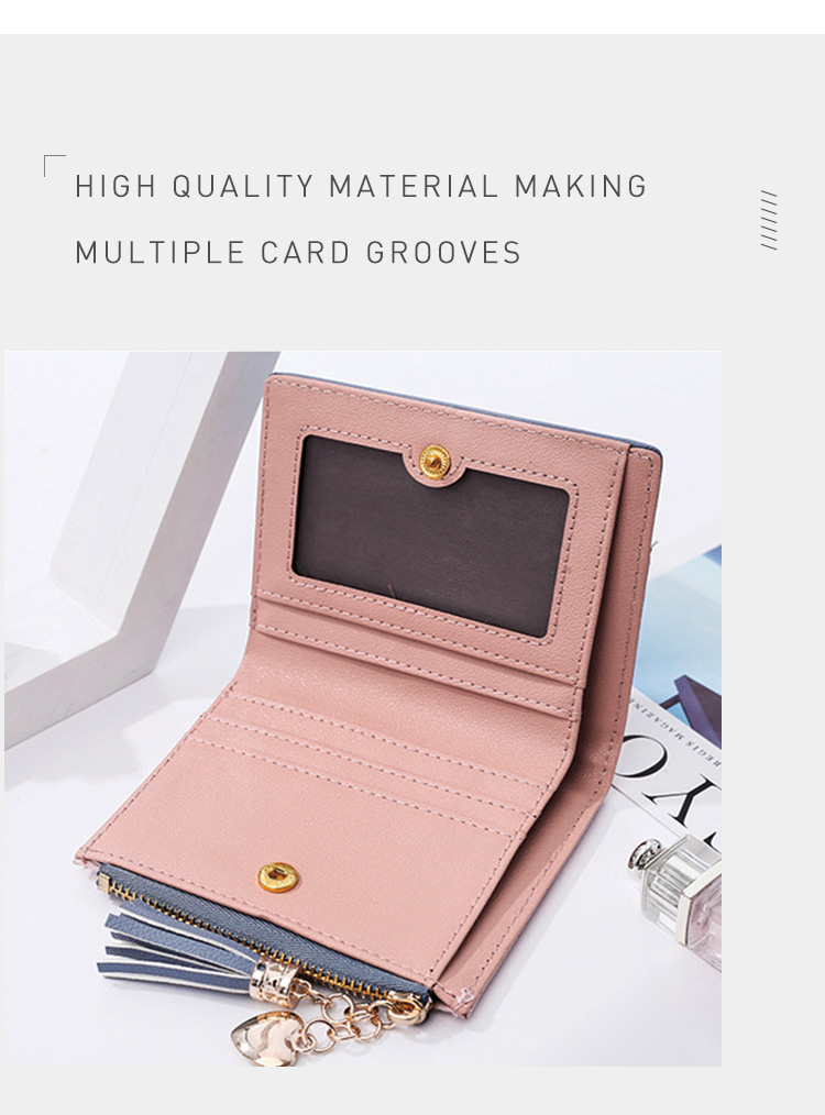 PU Leather,wallet female,wallet female women zipper,Fashion,Casual,Vintage,Black,Red,Brown,Blue,Pink wallet female leather (5)