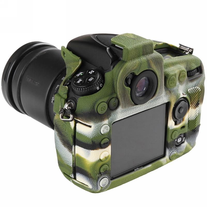 Soft Silicone Rubber Camera Bag For Nikon D810 D800 D850 Protective Body Case Skin DSLR Camera Rubber Cover Bag (11)