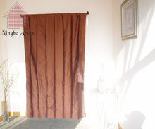 Taffeta curtains