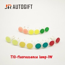 100pcs Car-Styling External LED T10 COB W5W 24V Wedge Door Instrument Side Bulb Lamp Car Light White/Blue//red/yellow/green(China)