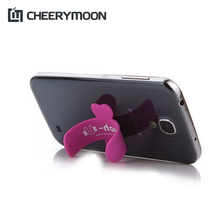 CHEERYMOON One touch wing design silicone stand Rubber Cell phone sucker Holder For all Phone