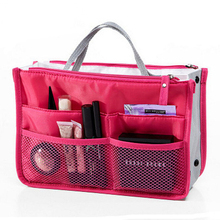 Toiletry Kit Travel Necessaries Necessaire For Women Make Up Makeup Cosmetic Toilet Bag Purse Organizer Beauty Case Pouch Vanity(China)