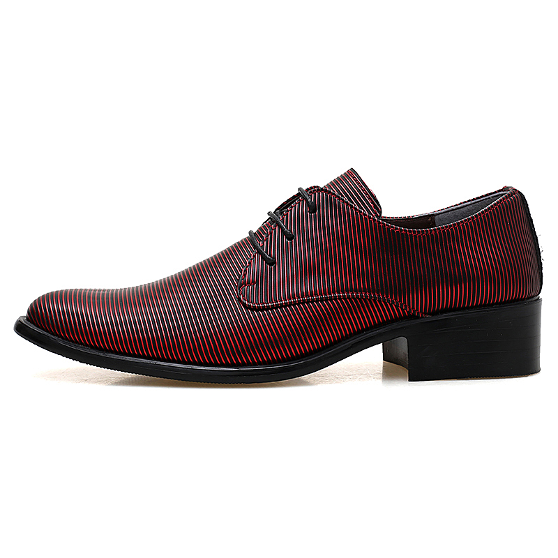 designer striped shoes men luxury brand fashion camouflage italian pointed male footwear designer man dress oxford shoes for men (45)