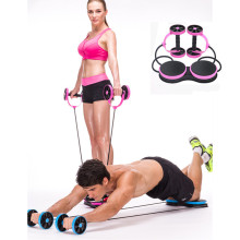 Abdominal Wheel ABS Wheel Machine For the Family Exercise Waist Sliming Fitness Waist Turning Equipment Crossfit Tensimeter(China)