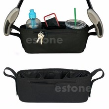 2017 Preety Pram Stroller Drink Parent Tray Organizer Double Cup Holder Console Phone Jogger    APR12_30