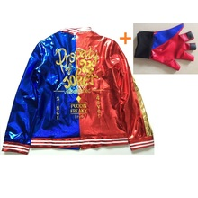 joker and harley quinn cosplay suicide squad costumes girls jackets complet for women adults top costume accessories halloween