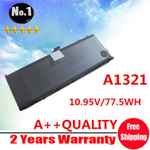 "wholesale New Laptop Battery For Apple MacBook 15"" A1286 MB986LL/A  MB985  Replace A1321 Free shipping"