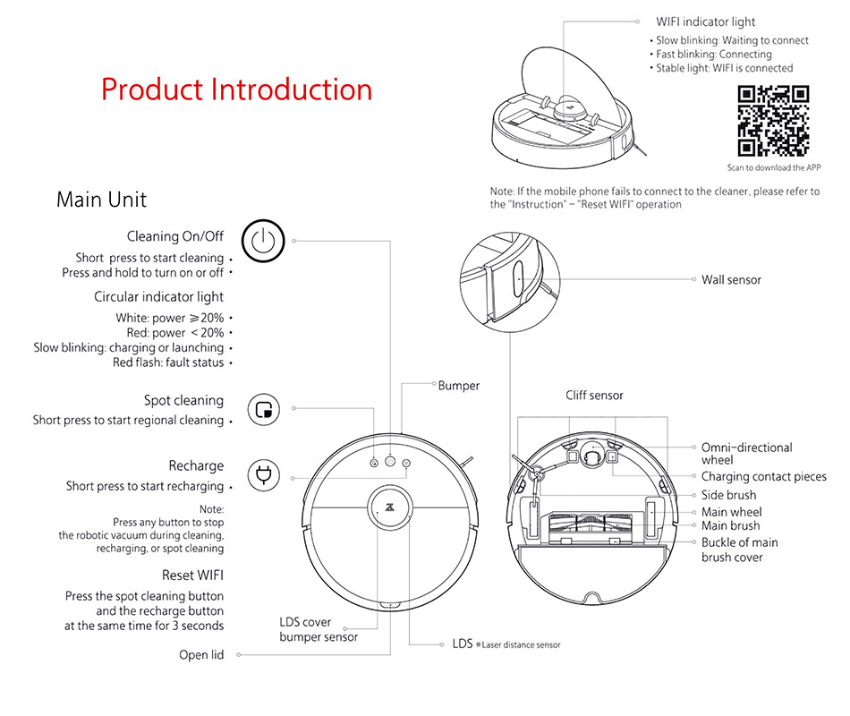 WIFI Instructions for Roborock-950