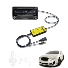AUX USB Adapter Digital Music CD interface Audio MP3 Media CD Changer For Toyota Camry Landcruiser