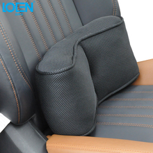LOEN 1PC Car Seat Chair Back Massage Lumbar Support Waist Cushion Breathable Ventilate Cushion Pad Memory Foam Healthcare(China)