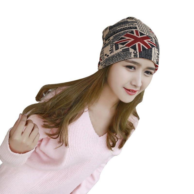 Fashion Casual Unisex Women Men  Print Winter Scarf Letter Korean Caps Knit Hats CapsÎäåæäà è àêñåññóàðû<br><br><br>Aliexpress