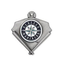HAEQIS Alloy Sport Baseball Team Charms Seattle Mariners Logo Charms Wholesale AAC479(China)