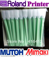 "100 pcs Printhead Cleaning Swab for Solvent Water based printer 5"" cleaner(China)"