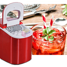 Countertop Commercial Ice Machine Portable Automatic Ice Maker Household Ice Cube Make Machine For Home Use, Bar, Coffee Shop
