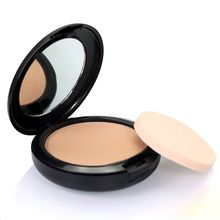 Natural Face Make Up Foundations Mineral Cream Oil-control Brighten Fix Powder Plus + Powder Puffs Face Powder / Pessed Powde