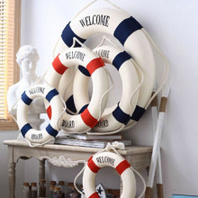 Foam Home Decor Nautical Decorative Lifebuoy Life Ring Wall Hanging Showcase