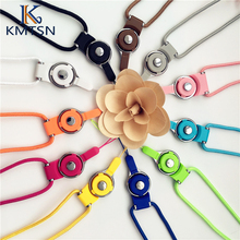 50cm Multi-color Lanyard mobile phone straps Phone sling decorative ribbon key ring Lanyard(China)