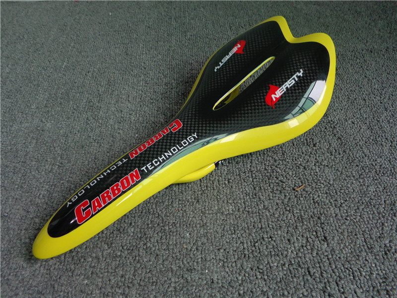 Very Rigid Carbon Saddle Bike/Bicycle Saddle Front Seat Bike Accessaries Very Nice Painting<br><br>Aliexpress