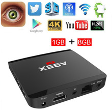 A95X R1 Android Smart TV Box 1GB+8GB Quad Core HDMI HD 4Kx2K Full Loaded Media Player Set top box  PK V88 x96 A95x