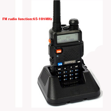 1pcs  Baofeng uv 5r Walkie Talkie 5W Dual Band Portable Radio with UHF&VHF UV 5R 136-174MHz 400-520MHz CB Radio baofeng uv-5r