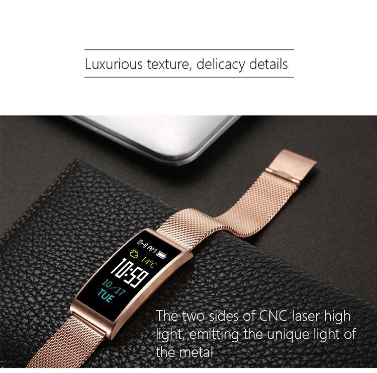 Microwear X3 IP68 Waterproof smart fitness bracelet pedometer blood pressure smart wristband Android iOS fitness tracker 2