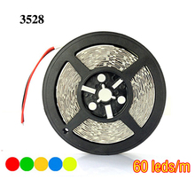 Firecore 5m 3528 led strip smd Red/Green/Blue/White/Warm White 60led/m 300 Leds Flexible strips(China)