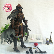 West Cowboy Batman Play Arts Kai Action Figure PVC Toys 27cm Anime Movie Model West Cowboy Bat Man Playarts Kai