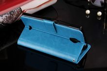TUKE New Arrival flip PU leather Case For China Mobile A1 Wallet Cover With Card Slots Holder