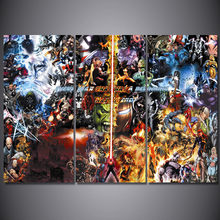 3 Pcs/Set Framed HD Printed Final War Marvel Comic Wall Art Canvas Pictures For Living Room Bedroom Home Decor Canvas Painting