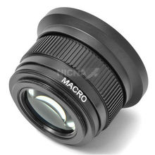 46mm 0.42x Fisheye Wide Angle Macro Conversion Lens for 46 mm Panasonic HDC TM700 HS700 Camcorders(China)