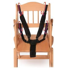Universal Baby 5 Point Harness High Chair Safe Belt Seat Belts For Stroller Pram Buggy Children Baby Belt Stroller Accessories(China)
