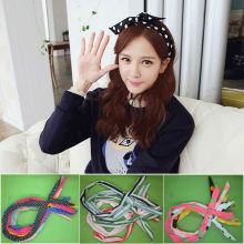 YouMap Hair Ring Hair Accessories Headdress Rabbit Ears Headband Bow Hair Hoop Headbands Hair Scarf Bandwidth A12R10C