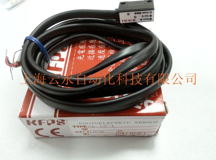 new original CR-10-1   Taiwan kai fang KFPS photoelectric sensor<br>